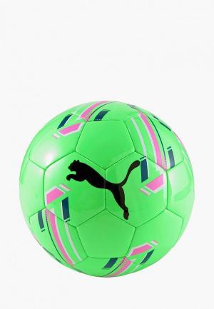 Мяч футбольный PUMA. Цвет: зеленый