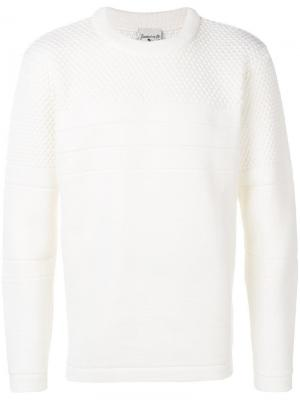 Long sleeved jumper S.N.S. Herning. Цвет: белый