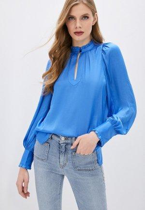 Блуза Zadig & Voltaire. Цвет: голубой