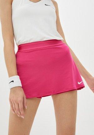 Юбка-шорты Nike. Цвет: розовый