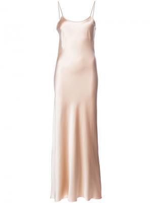 Платье-комбинация Liquid VOZ. Цвет: нейтральные цвета