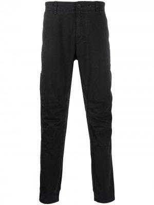 Прямые брюки Rag & Bone. Цвет: черный