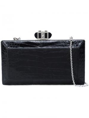 Клатч прямоугольной формы Judith Leiber Couture. Цвет: чёрный