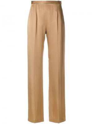 Прямые брюки с завышенной талией Styland. Цвет: нейтральные цвета