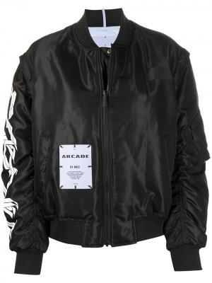Куртка-бомбер MCQ. Цвет: черный