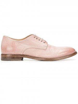Оксфорды на шнуровке MOMA. Цвет: розовый