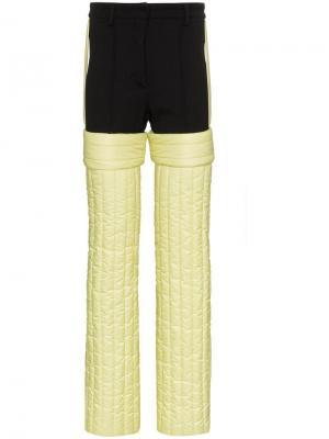 Стеганые лыжные брюки Colmar A.G.E. By Shayne Oliver. Цвет: черный