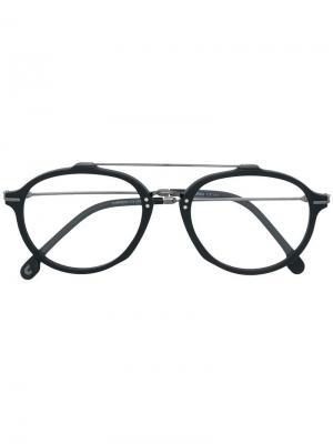 Round frame glasses Carrera. Цвет: черный