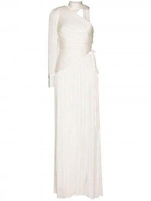 Вечернее платье Raveena Maria Lucia Hohan. Цвет: белый