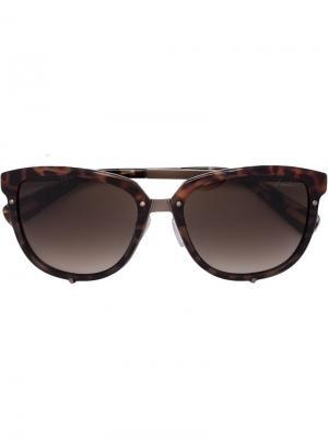 Солнцезащитные очки Havana Lanvin. Цвет: коричневый