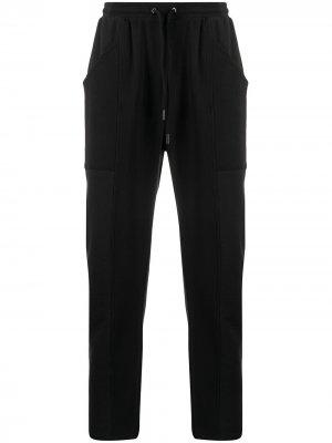 Спортивные брюки в рубчик Opening Ceremony. Цвет: черный
