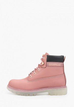 Ботинки Caterpillar. Цвет: розовый