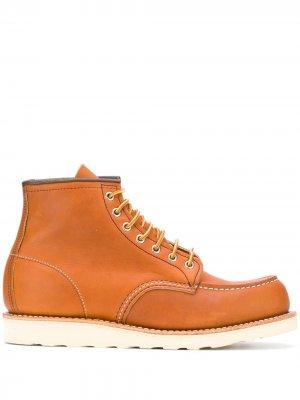 Ботинки Classic Mock Toe Red Wing Shoes. Цвет: нейтральные цвета