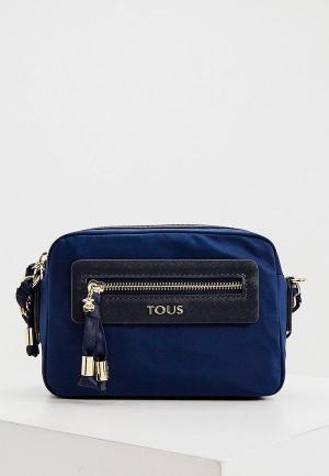 Сумка Tous. Цвет: синий