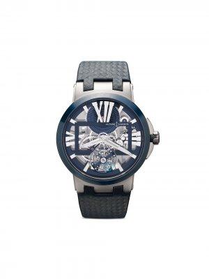 Наручные часы Skeleton X 43 мм Ulysse Nardin. Цвет: голубой