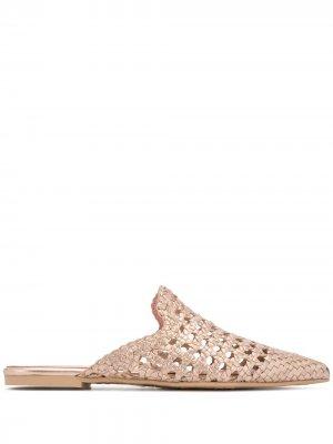 Плетеные сандалии Else Pretty Ballerinas. Цвет: розовый