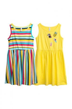 Платье PlayToday. Цвет: белый