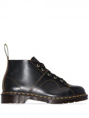 Ботинки Church на шнуровке Dr. Martens. Цвет: черный
