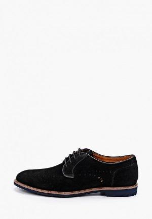 Туфли Paolo Conte. Цвет: черный