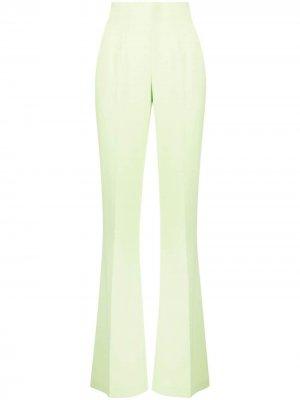 Расклешенные брюки Joker RAQUETTE. Цвет: зеленый