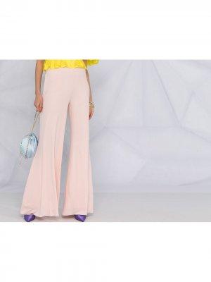 Расклешенные брюки Alexandre Vauthier. Цвет: розовый