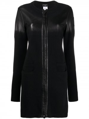 CSIP0918CHAJAC2R BLACK Wool/Lambskin Chanel Pre-Owned. Цвет: черный