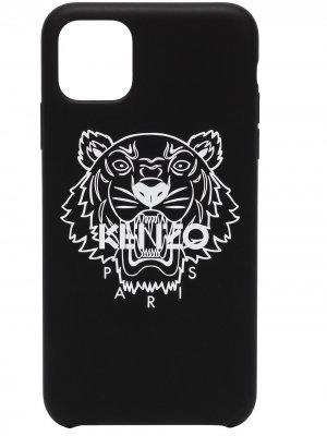 Чехол Tiger для iPhone 11 Pro Max Kenzo. Цвет: черный