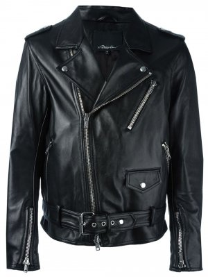 MOTO JACKET W/ MULTI ZIP 3.1 Phillip Lim. Цвет: черный