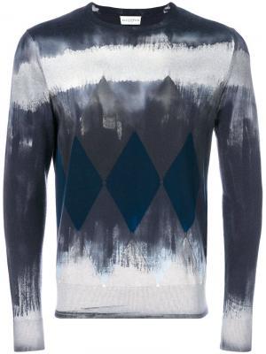 Geometric graphic print sweater Ballantyne. Цвет: синий