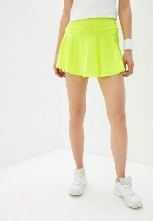 Юбка-шорты Nativos. Цвет: желтый