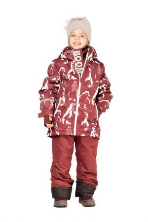 Комплект: куртка, брюки BOOM. Цвет: бордовый