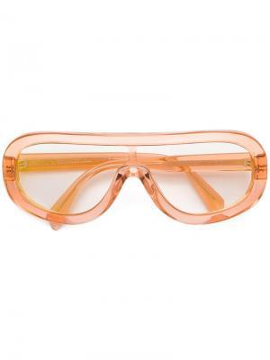 Солнцезащитные очки-авиаторы Céline Eyewear. Цвет: желтый