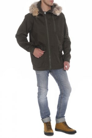 Куртка MAHARISHI. Цвет: зеленый