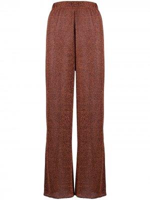 Широкие брюки Oséree. Цвет: оранжевый