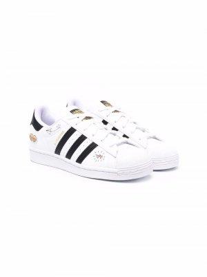 Кеды Superstar adidas Kids. Цвет: белый