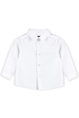 Рубашка Coccodrillo. Цвет: белый