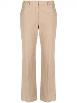 Прямые брюки чинос Incotex. Цвет: нейтральные цвета