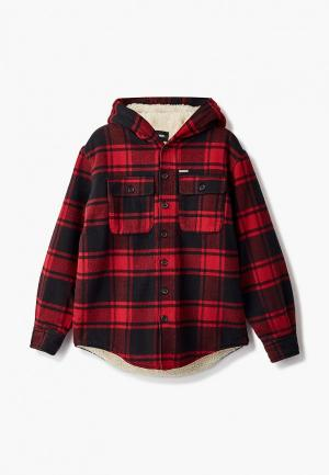 Куртка утепленная Dsquared2. Цвет: красный
