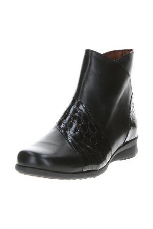 Ботинки PITILLOS. Цвет: черный