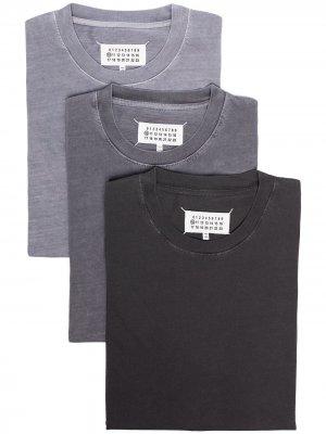 Комплект футболок Maison Margiela. Цвет: серый