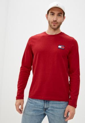 Лонгслив Tommy Jeans. Цвет: красный