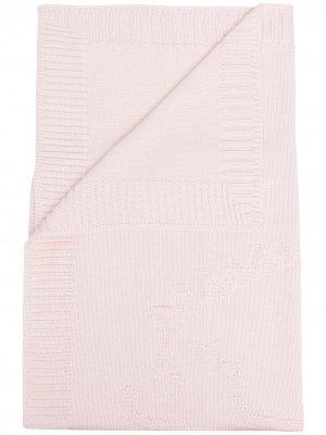 Трикотажное одеяло Tartine Et Chocolat. Цвет: розовый