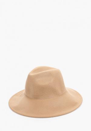 Шляпа United Colors of Benetton. Цвет: бежевый