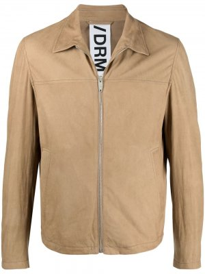 Куртка на молнии Drome. Цвет: коричневый