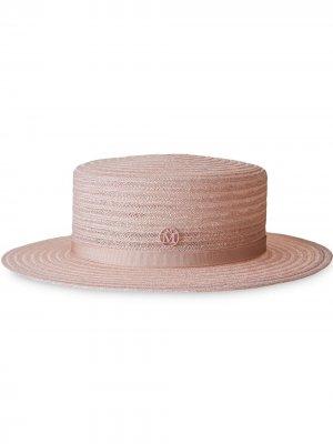 Шляпа-федора Kiki Maison Michel. Цвет: розовый