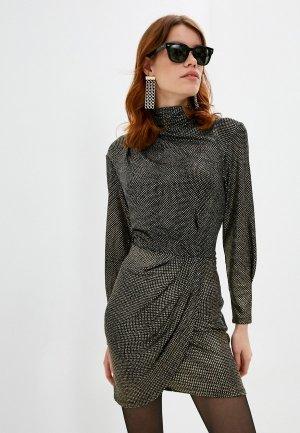 Платье Iro. Цвет: золотой