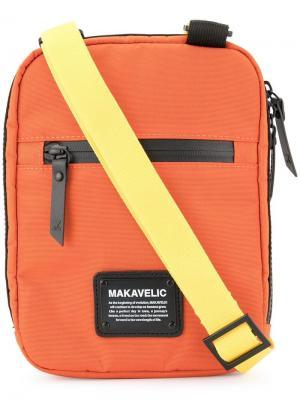 Мини-сумка через плечо Makavelic. Цвет: оранжевый
