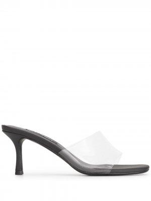 Босоножки с открытым носком Senso. Цвет: черный
