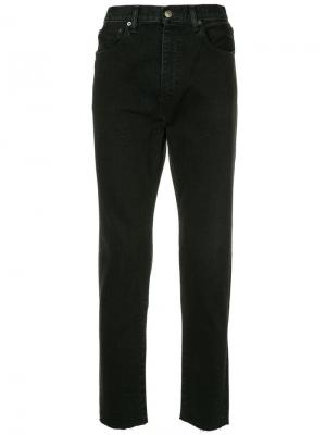 Классические джинсы скинни H Beauty&Youth. Цвет: синий