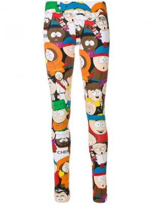 Леггинсы South Park Jc De Castelbajac Vintage. Цвет: разноцветный